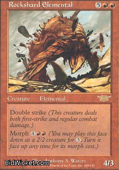 Rockshard Elemental, Legions, Magic the Gathering