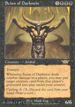 Scion of Darkness, Legions, Magic the Gathering