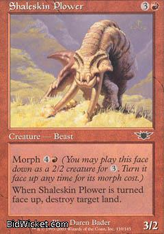 Shaleskin Plower, Legions, Magic the Gathering