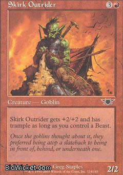 Skirk Outrider, Legions, Magic the Gathering