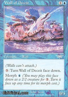 Wall of Deceit, Legions, Magic the Gathering