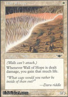 Wall of Hope, Legions, Magic the Gathering