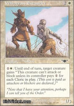Whipgrass Entangler, Legions, Magic the Gathering