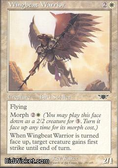 Wingbeat Warrior, Legions, Magic the Gathering