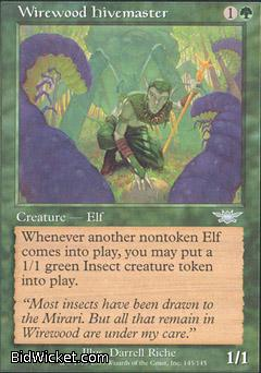 Wirewood Hivemaster, Legions, Magic the Gathering