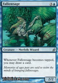 Fallowsage, Lorwyn, Magic the Gathering