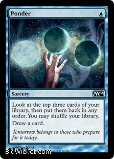 Ponder, Magic 2010 Core Set, Magic the Gathering