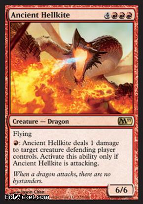 Ancient Hellkite, Magic 2011 Core Set, Magic the Gathering