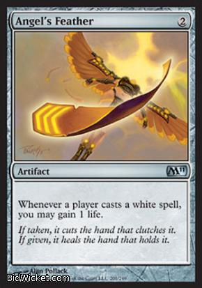 Angel's Feather, Magic 2011 Core Set, Magic the Gathering