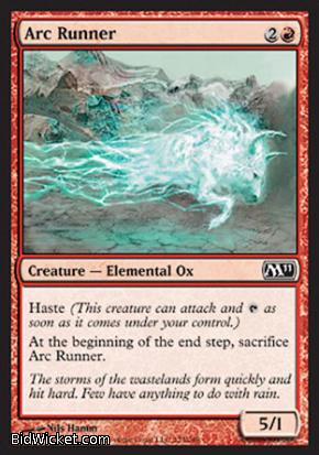 Arc Runner, Magic 2011 Core Set, Magic the Gathering