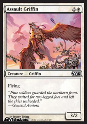 Assault Griffin, Magic 2011 Core Set, Magic the Gathering