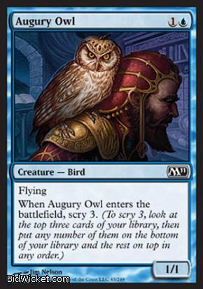 Augury Owl, Magic 2011 Core Set, Magic the Gathering