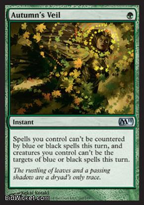 Autumn's Veil, Magic 2011 Core Set, Magic the Gathering