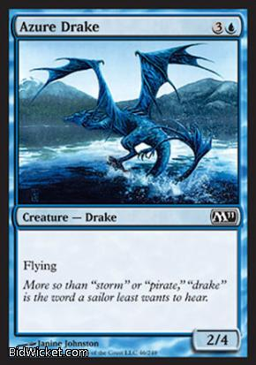 Azure Drake, Magic 2011 Core Set, Magic the Gathering