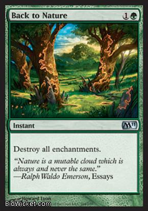 Back to Nature, Magic 2011 Core Set, Magic the Gathering