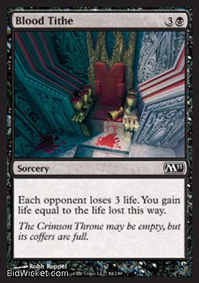 Blood Tithe, Magic 2011 Core Set, Magic the Gathering