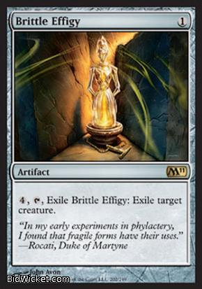 Brittle Effigy, Magic 2011 Core Set, Magic the Gathering