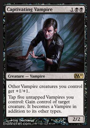 Captivating Vampire, Magic 2011 Core Set, Magic the Gathering