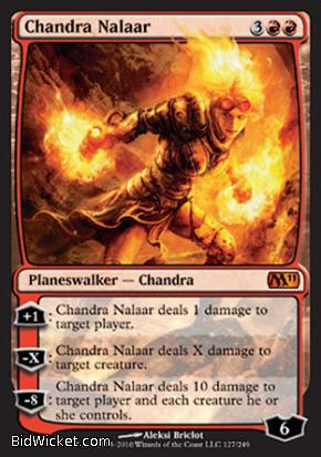 Chandra Nalaar, Magic 2011 Core Set, Magic the Gathering