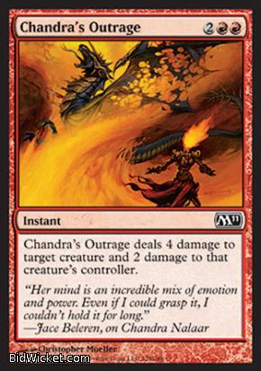 Chandra's Outrage, Magic 2011 Core Set, Magic the Gathering