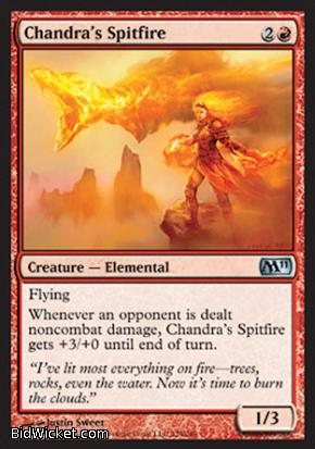 Chandra's Spitfire, Magic 2011 Core Set, Magic the Gathering