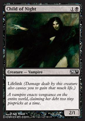 Child of Night, Magic 2011 Core Set, Magic the Gathering