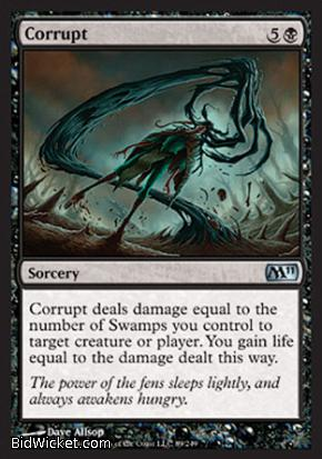 Corrupt, Magic 2011 Core Set, Magic the Gathering