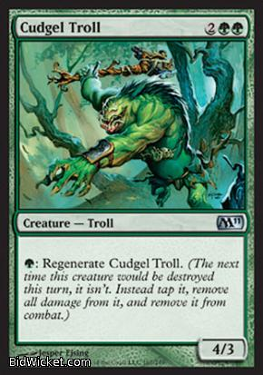 Cudgel Troll, Magic 2011 Core Set, Magic the Gathering