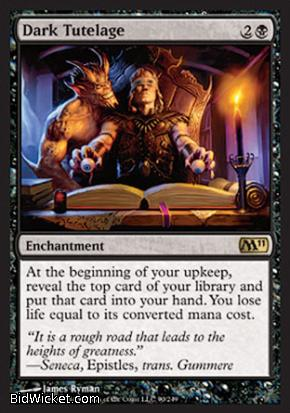 Dark Tutelage, Magic 2011 Core Set, Magic the Gathering