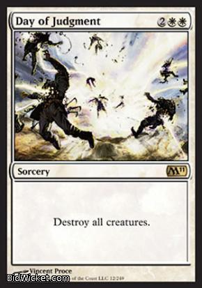 Day of Judgment, Magic 2011 Core Set, Magic the Gathering