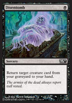 Disentomb, Magic 2011 Core Set, Magic the Gathering