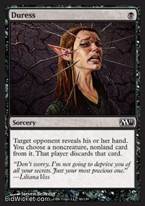 Duress, Magic 2011 Core Set, Magic the Gathering