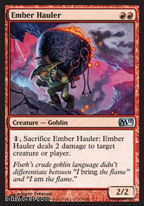 Ember Hauler, Magic 2011 Core Set, Magic the Gathering