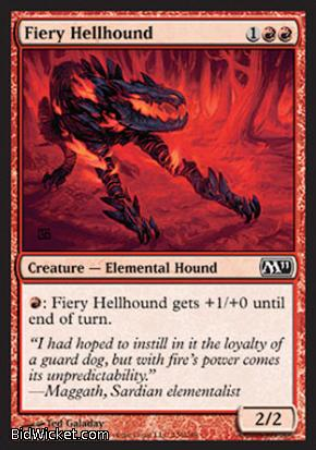 Fiery Hellhound, Magic 2011 Core Set, Magic the Gathering