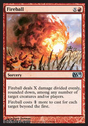 Fireball, Magic 2011 Core Set, Magic the Gathering