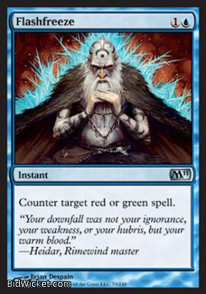 Flashfreeze, Magic 2011 Core Set, Magic the Gathering