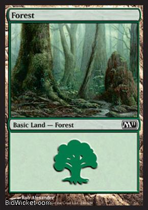 Forest (246), Magic 2011 Core Set, Magic the Gathering