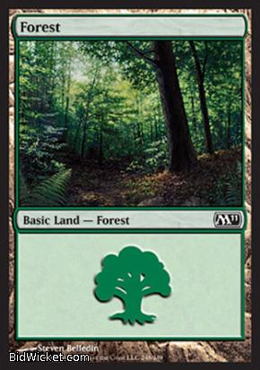 Forest (248), Magic 2011 Core Set, Magic the Gathering