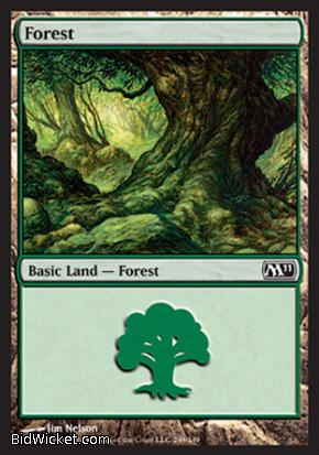 Forest (249), Magic 2011 Core Set, Magic the Gathering