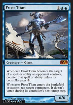 Frost Titan, Magic 2011 Core Set, Magic the Gathering