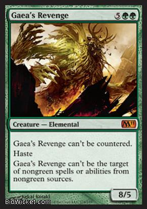 Gaea's Revenge, Magic 2011 Core Set, Magic the Gathering