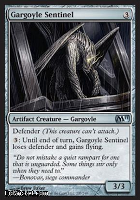 Gargoyle Sentinel, Magic 2011 Core Set, Magic the Gathering