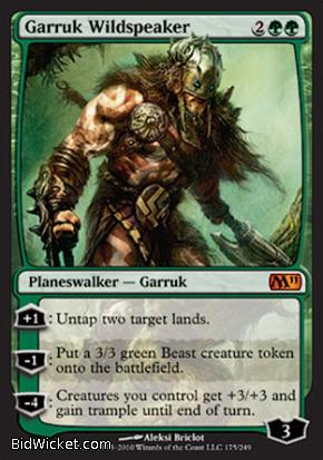 Garruk Wildspeaker, Magic 2011 Core Set, Magic the Gathering