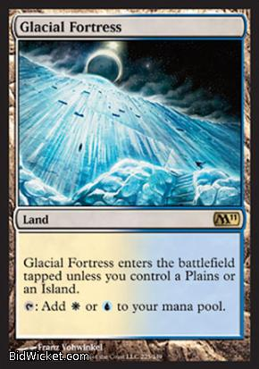 Glacial Fortress, Magic 2011 Core Set, Magic the Gathering