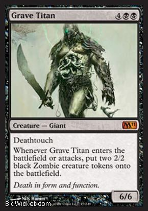Grave Titan, Magic 2011 Core Set, Magic the Gathering