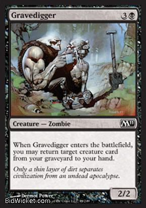 Gravedigger, Magic 2011 Core Set, Magic the Gathering