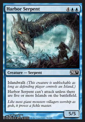 Harbor Serpent, Magic 2011 Core Set, Magic the Gathering