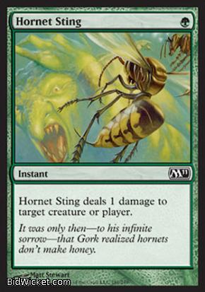 Hornet Sting, Magic 2011 Core Set, Magic the Gathering