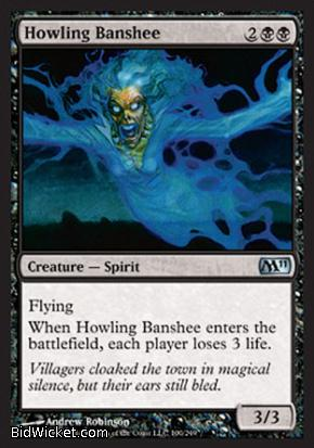 Howling Banshee, Magic 2011 Core Set, Magic the Gathering