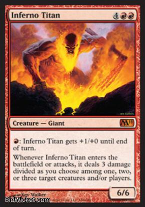 Inferno Titan, Magic 2011 Core Set, Magic the Gathering